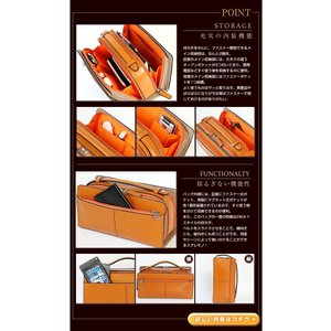カステルバジャック セカンドバッグ バッグ メンズ トリエ 牛革 164202 CASTELBAJAC バジャック|bag-loire|03