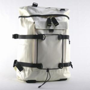 マウンテンスミス(MOUNTAINSMITH)タイロール2 ターポリン リュックサック ホワイト|bag-luggage-fujiya