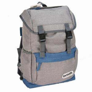 アウトドア プロダクツ(OUTDOOR PRODUCTS) POLY HEMP2 フラップリュック グレー bag-luggage-fujiya