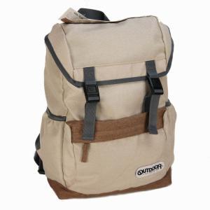 アウトドア プロダクツ(OUTDOOR PRODUCTS) POLY HEMP2 フラップリュック ナチュラル bag-luggage-fujiya
