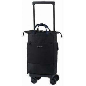 スワニー(SWANY)レルタ 21リッター機内持ち込み: 可(国際線、国内線100席以上) ブラック|bag-luggage-fujiya