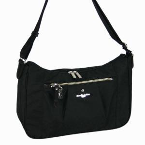 マリ クレール(marie claire)リュネット ショルダーバッグ(M)(横型 キャリーバー対応 ) 01ブラック bag-luggage-fujiya