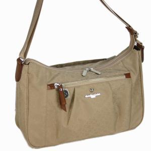 マリ クレール(marie claire)リュネット ショルダーバッグ(M)(横型 キャリーバー対応 ) 05ベージュ bag-luggage-fujiya
