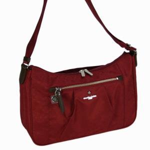 マリ クレール(marie claire)リュネット ショルダーバッグ(M)(横型 キャリーバー対応 ) 10レッド bag-luggage-fujiya