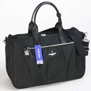 マリ クレール(marie claire)リュネット ショルダーボストンバッグ 01ブラック bag-luggage-fujiya