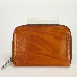 ラゲッジ アオキ(Luggage AOKI)チェントロ ラウンドファスナー型小銭入れ(コインパース) 52キャメル|bag-luggage-fujiya