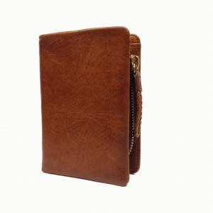 ラゲッジ アオキ(Luggage AOKI)(ラ・ガレリア) la GALLERIAArrosto(アロースト)折財布 52キャメル|bag-luggage-fujiya