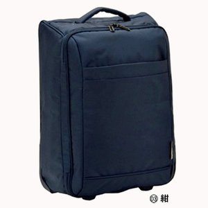 VALENTINO VISCANI 折りたたみ2輪トロリー 機内持ち込み可能  03ネイビー|bag-luggage-fujiya
