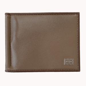 吉田カバン ポーター(PORTER)PORTER PLUME MONEY CLIP マネークリップ40オーク|bag-luggage-fujiya