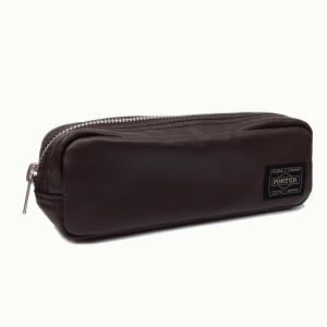 吉田カバン ポーター(PORTER)フリースタイル(FREE STYLE) PEN CASE 60ブラウン|bag-luggage-fujiya