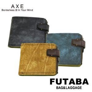500円OFFクーポン配布中 アックス 財布 ウォッシュ 136654 AXE Wash 二つ折り財布|bag-net