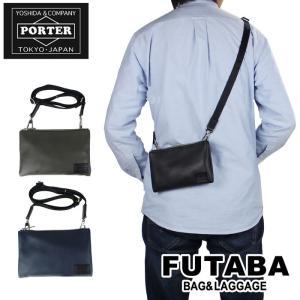 限定アイテムプレゼント 吉田カバン ポーター ブリング ショルダーバッグ ポーチ PORTER BRING SHOULDER POUCH 182-04094 レザー ビジネス メンズ|bag-net