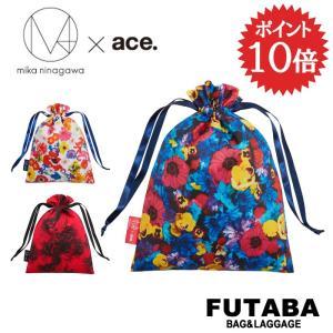 ace. TOKYO LABEL M / mika ninagawa エム/ミカ ニナガワ×エース ドローストリングポーチ 限定 衣装ケース 巾着 LTD 32624|bag-net