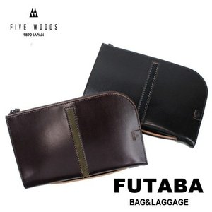 QUO&限定アイテムWプレゼント ファイブウッズ テッズ 39011 FIVE WOODS Teds クラッチバッグ|bag-net