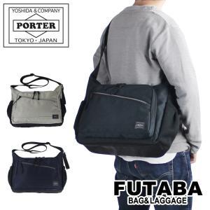 ノベルティ付き 吉田カバン ポーター フロント ショルダーバッグ PORTER FRONT SHOULDER BAG(L) 687-17027 メンズ レディース|bag-net