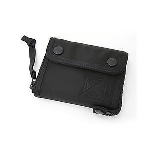 吉田カバン ラゲッジレーベル 財布 ジェットブラック 909-08750 吉田カバン LUGGAGELABEL JET-BLACK 三つ折り財布|bag-net