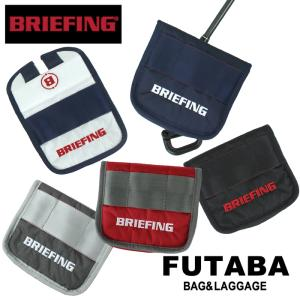 QUOプレゼント BRIEFING ブリーフィング ゴルフ パターカバー ヘッドカバー グリムロック フィドロック GOLF B SERIES MALLET CS PUTTER COVER RIP BRG191G38|bag-net