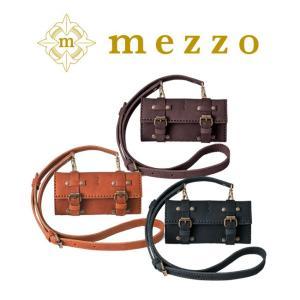 メゾ 革 ウォレット 財布にストラップをつけたレトロ感が溢れるアイテム。|bag-sonrisa