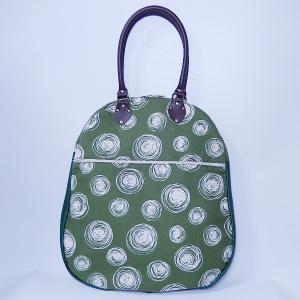 たまごトート 水玉グリーン|bag-tantan