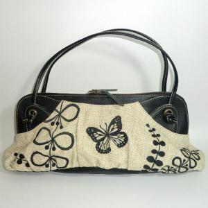 蝶と草花|bag-tantan