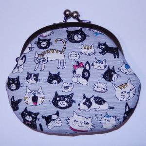 がま口 犬ネコ|bag-tantan