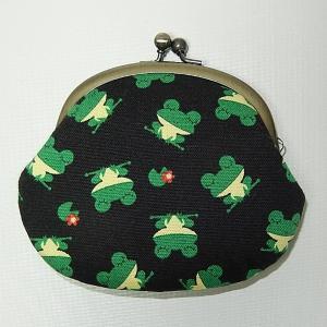 がま口 カエル|bag-tantan