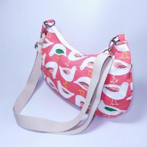 半月ショルダー オレンジバード bag-tantan 02