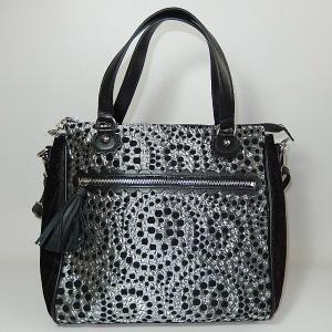 イパニマ 2WAY シルバーバッグ|bag-tantan