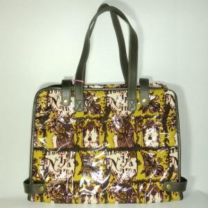 イパニマ シグネチャー ビジネスバッグ グリーン|bag-tantan