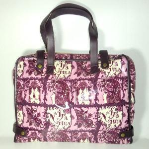 イパニマ シグネチャー ビジネスバッグ ピンク|bag-tantan