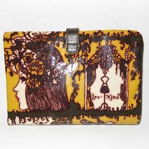 イパニマ二つ折財布 シグネチャー グリーン |bag-tantan