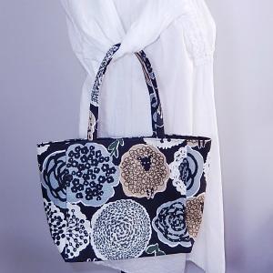 ミニトート 羊と花|bag-tantan|05