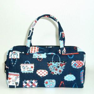 スクエアS ブルーバッグ bag-tantan