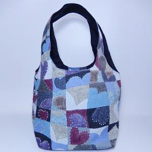 バケツ型トート ハート bag-tantan