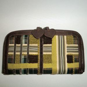 イパニマ財布 タータンブラウン|bag-tantan
