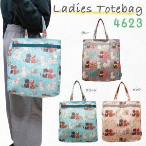 f6a94b655e1875 トートバッグ ねこ 猫 縦型ねこ花柄トートバッグ キャット 4623|bagbox ...