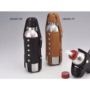 KIJIMA HD-04177 ガソリンボトル900cc&レザーホルダー(タン)|bagg