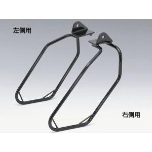 KIJIMA HD-08010 03-15年FXST・FLSTF・FLSTN用サドルバッグサポート 右側用(ブラック)|bagg