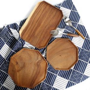 トレイ お盆 木製 食器 木の皿 北欧 カフェ おしゃれ かわいい ナチュラル キッチン 雑貨