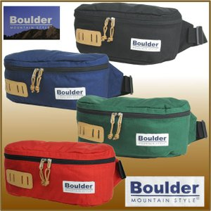 ボルダーマウンテンスタイル S15-706 ダコタファニー BOULDER MOUNTAIN STYLE ウエストバッグ ヒップバッグ ウエストポーチ ボディバッグ|bagpacks