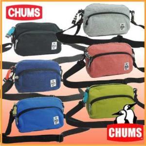 チャムス CH60-0627 ショルダーポーチ-スウェット CHUMS ショルダーバッグ メッセンジャーバッグ ミニショルダー|bagpacks