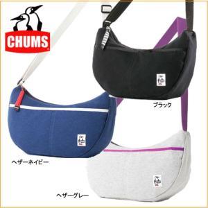 チャムス CH60-0625 スモールバナナショルダー-スウェット CHUMS ショルダーバッグ メッセンジャーバッグ ミニショルダー|bagpacks