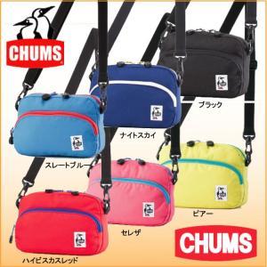 チャムス CH60-0846 ECO-ショルダーポーチ CHUMS ショルダーバッグ メッセンジャーバッグ ミニショルダー|bagpacks