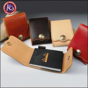ケイシイズ KMP140-ダブルステッチ メモパッド KC's bagpacks