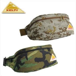ケルティ VINTAGE-CAMO ミニファニー  KELTY ウエストバッグ ヒップバッグ|bagpacks