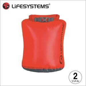 ライフベンチャー L59610-ウルトラライトドライバッグ-2 レッド LIFEVENTURE スタッフサック 防水バッグ|bagpacks