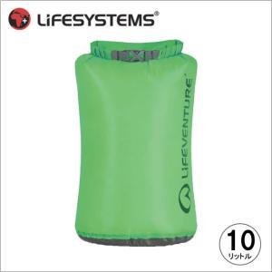 ライフベンチャー L59630-ウルトラライトドライバッグ-10 グリーン LIFEVENTURE スタッフサック 防水バッグ|bagpacks