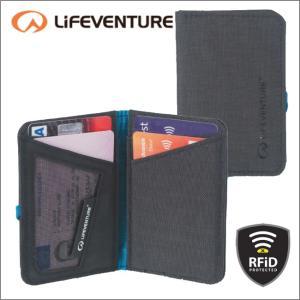 ライフベンチャー L68710-RFiDプロテクト カードワレット ブラック LIFEVENTURE セキュリティポケット 財布 ウォレット カードケース パスポートケース|bagpacks