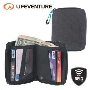 ライフベンチャー L68720-RFiDプロテクト BiFold-フォールドワレット ブラック LIFEVENTURE セキュリティポケット カードケース パスポートケース|bagpacks