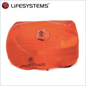 ライフシステム L42311-サバイバルシェルター2(2人用) LIFESYSTEMS ツェルト 保温シェルター 緊急用テント|bagpacks